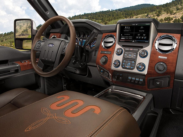 Ford F  King Ranch Powerful Super Duty Truck
