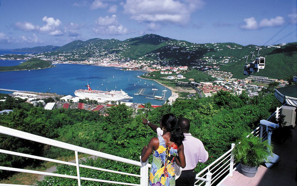 Traveler Tim Elkins Recently Took A Caribbean Cruise To