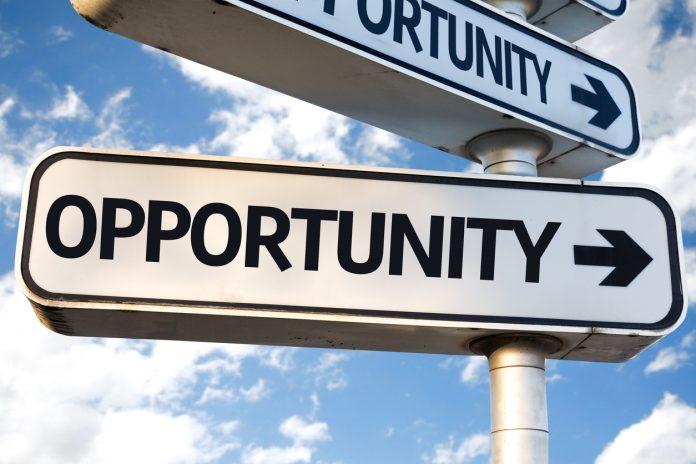 Opportunity signage