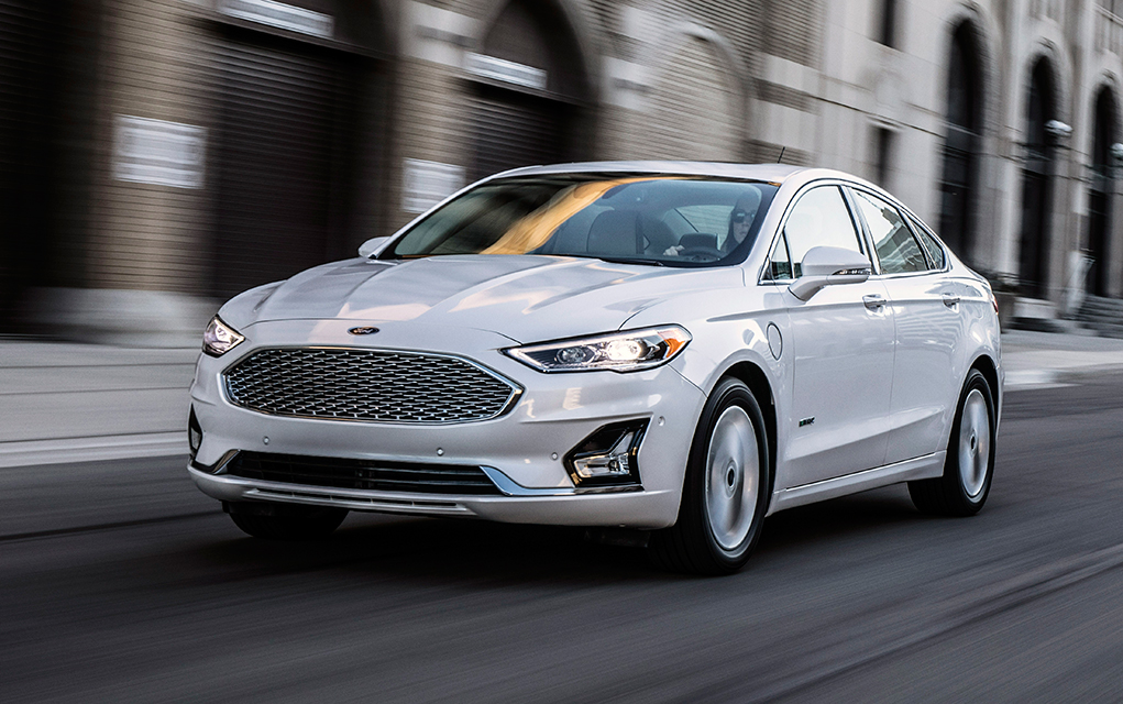 2019 Ford Fusion Energi Increased Battery Power