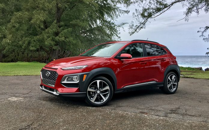 the new hyundai kona crossover offers fuel and ev models the network journal. Black Bedroom Furniture Sets. Home Design Ideas