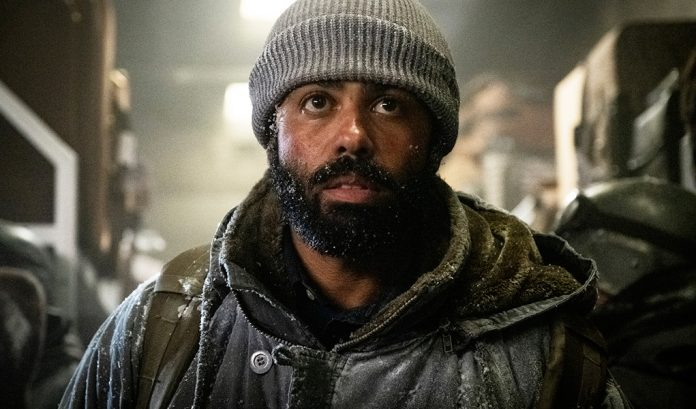 Actor Daveed Diggs in a scene from Snowpiercer