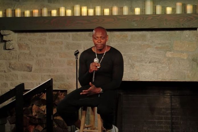 Dave Chappelle onstage