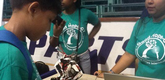 Guyanese Kid working on computer