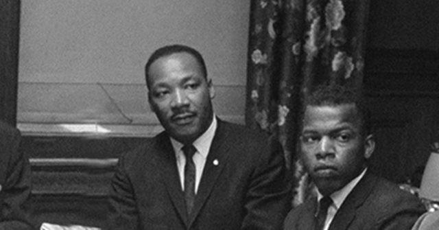 MLK and John Lewis