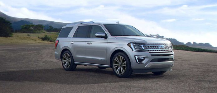 Silver SUV outdoors