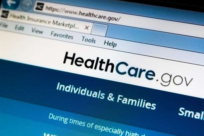 Pic of healthcare website