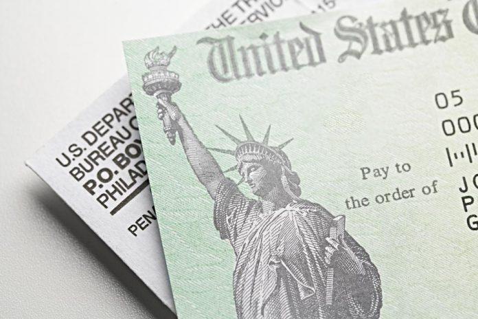 Image of a stimulus check