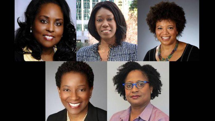 photos of 5 black women